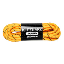 KIPZKAPZ R10 Round Shoelace - Orange Brown [4mm]