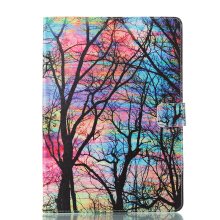 Sentum Apple iPad 2 3 4 Case Tablets Flip Stand Leather Color tree