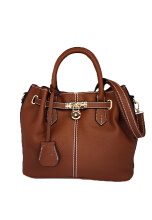 Catriona By Cocolyn Denise top handle bag - BROWN