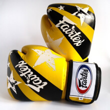FAIRTEX Boxing Gloves NP Yellow NationPrint