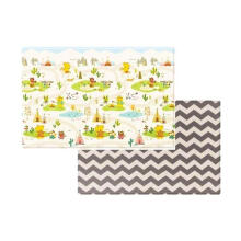 COBYHAUS PVC Playmat Yellow Bear Indian Village ( 235 x 140 x 1.6 cm )