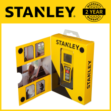 Stanley 30m TLM 99 Laser Dist. Measurement STHT1-77138 Yellow