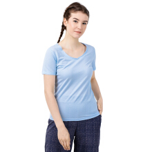 STYLEBASICS Scoopneck T-Shirt 1622 - Blue