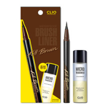 CLIO PROFESSIONAL Waterproof Brush Liner Kill Brown - Lip & Eye Remover