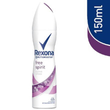 REXONA Deodorant Women Body Spray Free Spirit 150ml