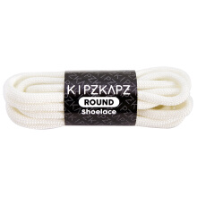 KIPZKAPZ RS26 Round Shoelace - White [5mm]