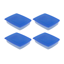 PLASTIK ONE Micropack - MP-0010 (Biru) Set of 4