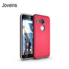 Joveins Antiskid Nexus 5X Case with Shockproof of Heavy Duty Full Protective Anti-Scratch Resistant Dual Layer Rugged Cover fo