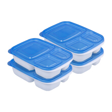PLASTIK ONE Easy Box - EB-0011 Biru Set of 4