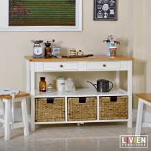Lemari Meja Dapur Keranjang Maple Story - LIVIEN FURNITURE
