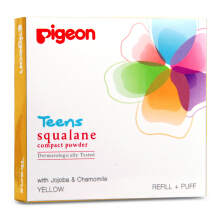 PIGEON TEENS Refill Compact Powder Squalene Yellow 20g