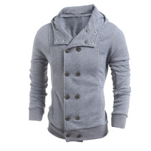 BESSKY Men Fashion Autumn Winter Hooded Sweater Top Blouse  _