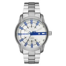 Diesel DZ1852 Armbar Men White Dial Stainless Steel [DZ1852]