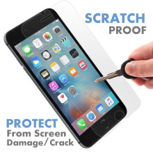 Keymao Apple Iphone 6/6S Tempered Glass Screen Protector 2.5D 9H Hard