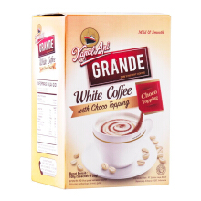KAPAL API Grande White Coffe Topping Box 20 Gr x 5 pcs