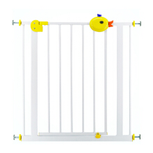 BABY SAFE Gate Duck Handle Safety Gate White XY018