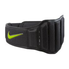NIKE Structured Training Belt 2.0 - Black/Volt
