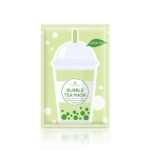 ANNIE'S WAY Green Tea Bubble Tea Invisible Silk Mask 5pc [125gr]