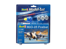 REVELL Model Set MIG 25 Foxbat - Plastic Model - Multicolor