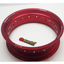 SCARLET RACING -Velg motor- uk 14-425 MT shape Red Others