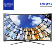 SAMSUNG LED TV 55 Inch Curved Smart Digital FHD - UA55M6300AK [SAMSUNG ONLINE PRIORITY]