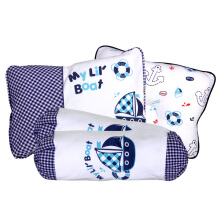 KIDDY Baby Pillow Set 3in1 KD2622 - Biru