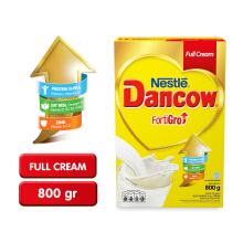 DANCOW Fortigro Susu Full Cream Box - 800g
