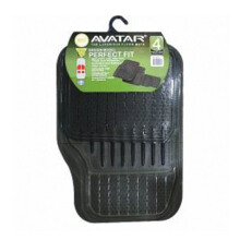 AVATAR 6100 Karpet Mobil - Smoke [4Pcs]