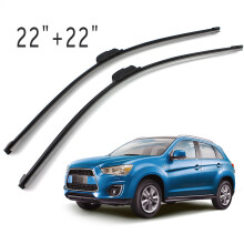 PAO MOTORING For All-Season Performance Front Pair 22 Inch + 22 Inch Wiper Blade J-Hook All Season OEM Car Window Windshield