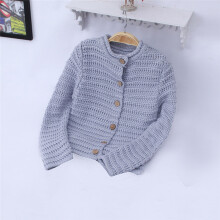 BESSKY Toddler Kids Baby Girls Outfit Clothes Button Knitted Sweater Cardigan Coat Tops_