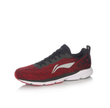 LI-NING Lightweight wear-resistant non-slip running shoes ARBM119-4-10-Red