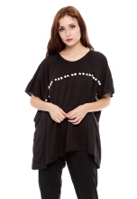 Yoenik Oversize Square Top Black - M13096 R26S2 (All Size)