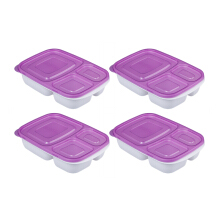 PLASTIK ONE Easy Box - EB-0011 Ungu Set of 4