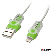 LINDY #31388 Cable protector for Apple Lightning 8pin USB Cable, Green