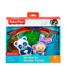 FISHER PRICE New Born On-The-Go Stroller Mobile DYW54
