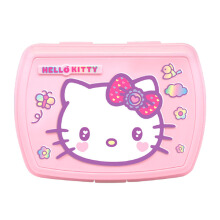 TECHNOPLAST Hello Kitty Fancy Revolution Relief Lunch Box - Pink
