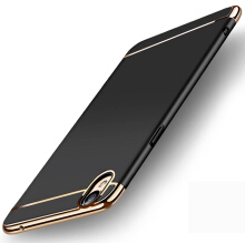 Smatton Case hp OPPO F1 Plus 3 in 1 Luxury Electroplate Ultra Thin Hybrid Shockproof Case Cover Shell