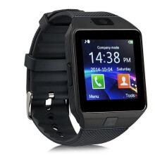 Bluetooth Smart Watch DZ09 GSM Smartwatch For Android Phone  BK Black