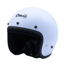 CARGLOSS Devil Classic Helm Retro - SP.Whity White