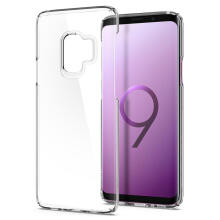 Spigen Thin Fit Crystal Case for Galaxy S9 - Clear
