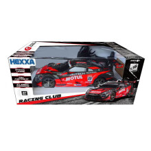 Hexxa RC Nissan GT-R GT500 Team Motul Autech 27 Mhz - 5901494 - Black Red