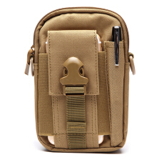 6inches Cell Phone Men Nylon Crossbody Bag Tool Tactical Waist Bag