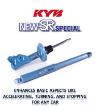 KAYABA NEW SR SHOCK ABSORBER - HONDA JAZZ GK 5 (NST5604AR)