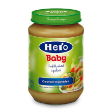 HERO BABY Import Premium Food Cream Vegetables 200 gr