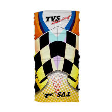 TVS Official Gear TVS Racing Headwear Buff Multifungsi Dark Yellow