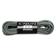 KIPZKAPZ F3 Flat Shoelace - Grey [8mm]