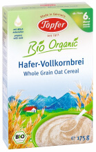 TOPFER Whole Grain Oat Cereal 175 gr
