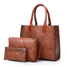 Fashionmall Women's New Casual Handbags Simple Soft Handbags