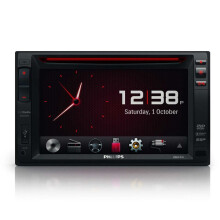 Philips CED-1600 DOUBLE DIN 6 - Black