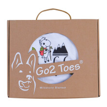 LITTLE JOY  by Go2 Toes Gift Set Package (Selimut, Bibs, & Jumper) - [6-9 Months]